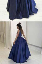 Load image into Gallery viewer, Sexy Deep V Neckline Prom Dresses Graduation Party Dresses Formal Dress For Teens BPD0343