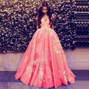 Wonderful Off-the-shoulder Ball Gown Formal Blue Lace Appliques Long Quinceanera Dresses RS119