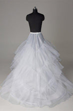 Load image into Gallery viewer, Silk Satin Wedding Petticoat Accessories White Floor Length FU03