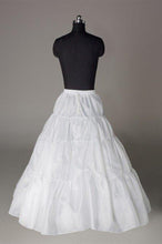 Load image into Gallery viewer, Fashion Wedding Petticoat Accessories White Floor Length Underskirt  FU01