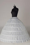 Fashion Wedding Petticoat Accessories White Floor Length FU02