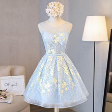 Load image into Gallery viewer, A line Short Homecoming Dress Graduation Dresses RS121