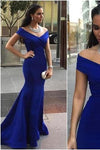 Pd01075 Charming Cap-Sleeves Mermaid Evening Dress Satin Noble Pleat Prom Dresses RS647