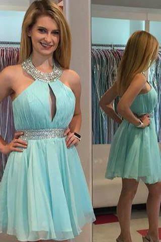 Light Blue Homecoming Dress Homecoming Dresses Homecoming Gowns RS889