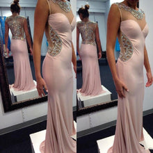 Load image into Gallery viewer, Sexy Prom Dress Chiffon Mermaid Evening Dress Long Evening Gown Prom Dresses RS389
