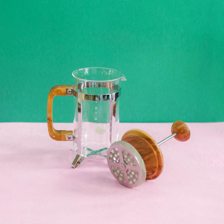 French Press Madera 4 Tazas Hario