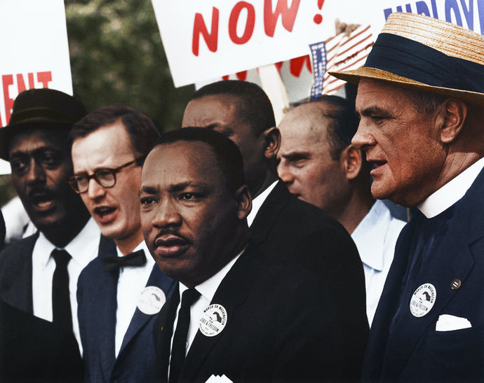 Martin Luther King,  50 ans plus tard