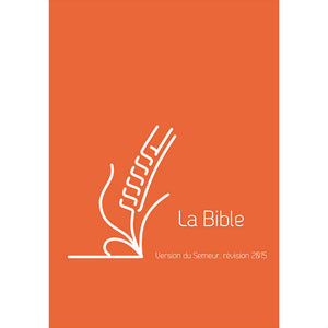 Bible Semeur Compact  - Lin Orange