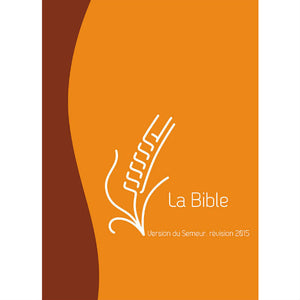 Bible Semeur Compact  - Vivella Marron/Orange