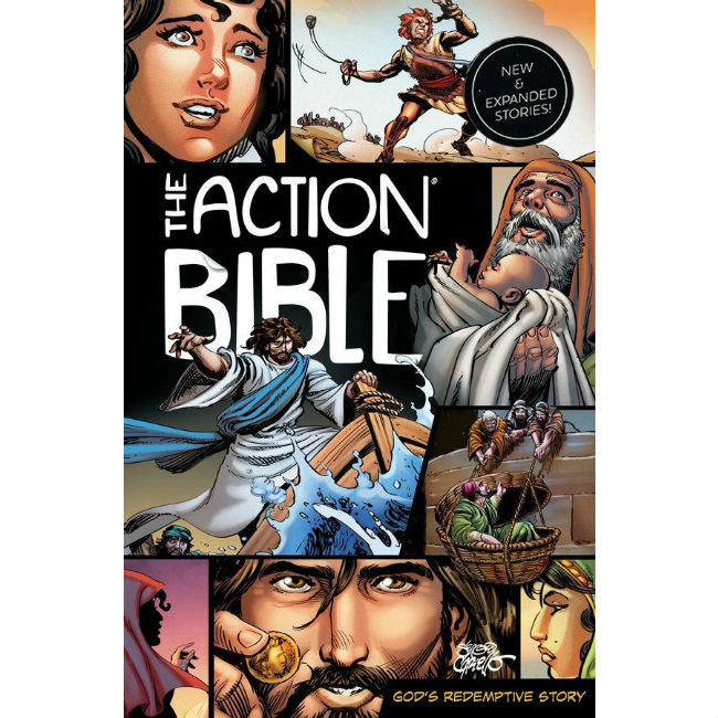 The Action Bible - new and expandes stories