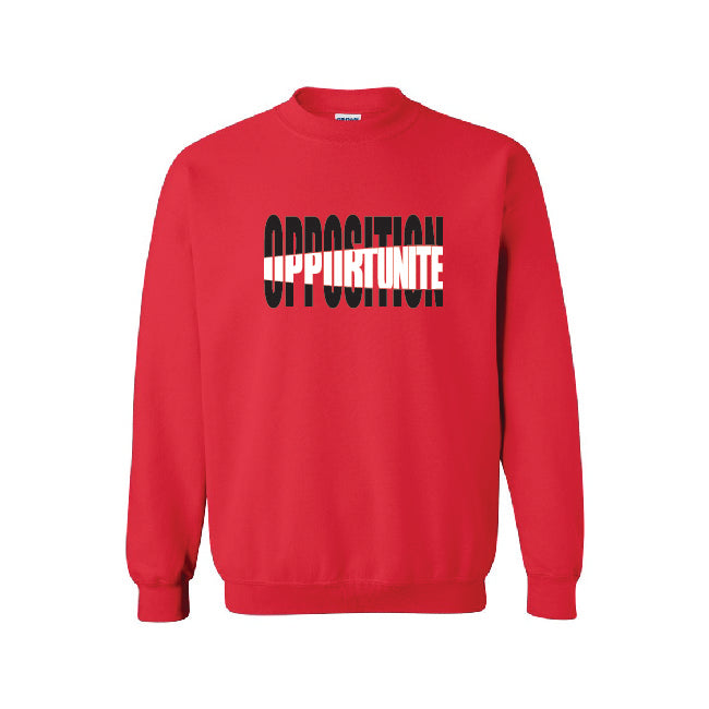 Opposition | Opportunité - Crewneck - D3PCLOTHING