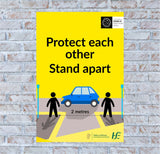Stand Apart Poster
