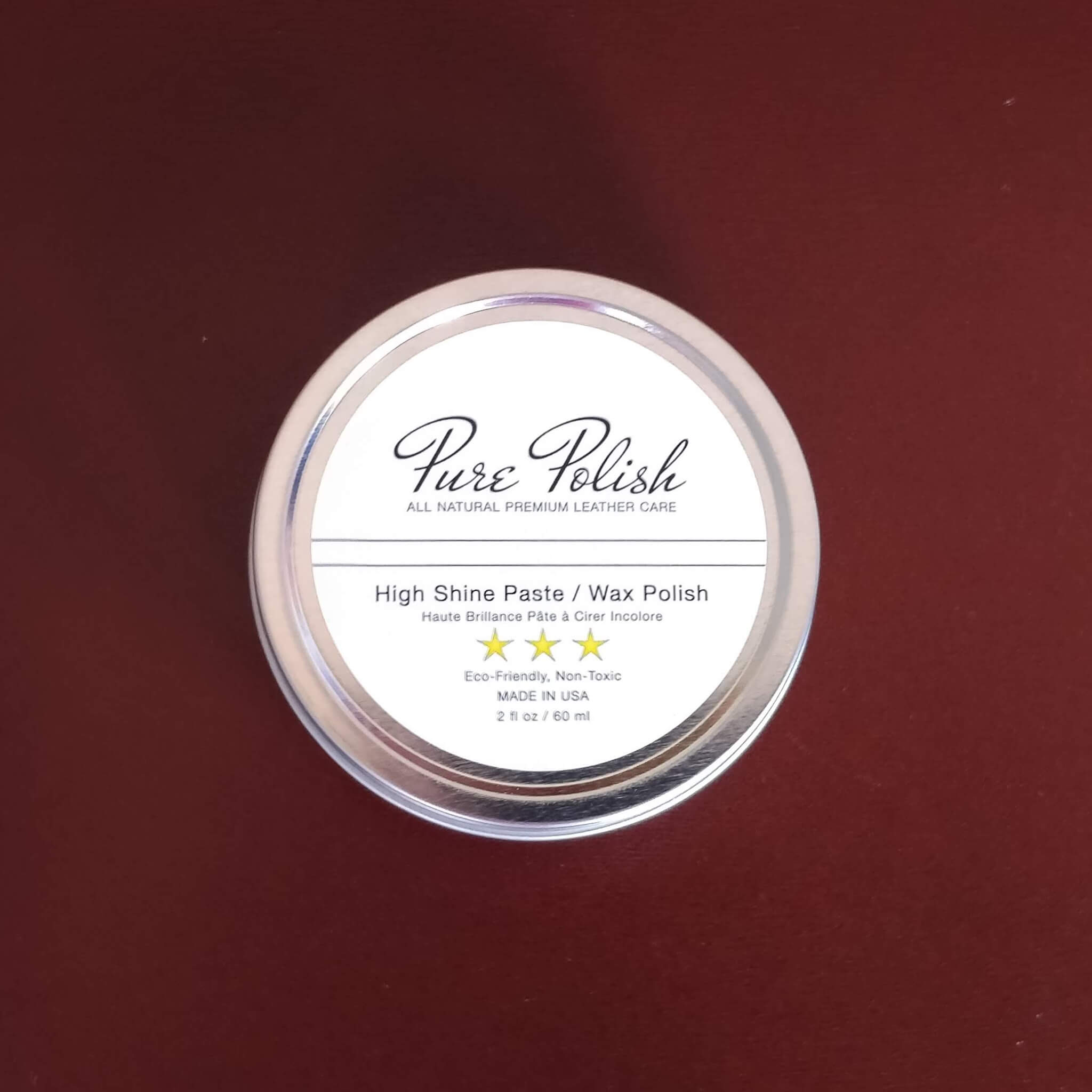 Purepolish Shoe High Shine Wax Polish by Fumu