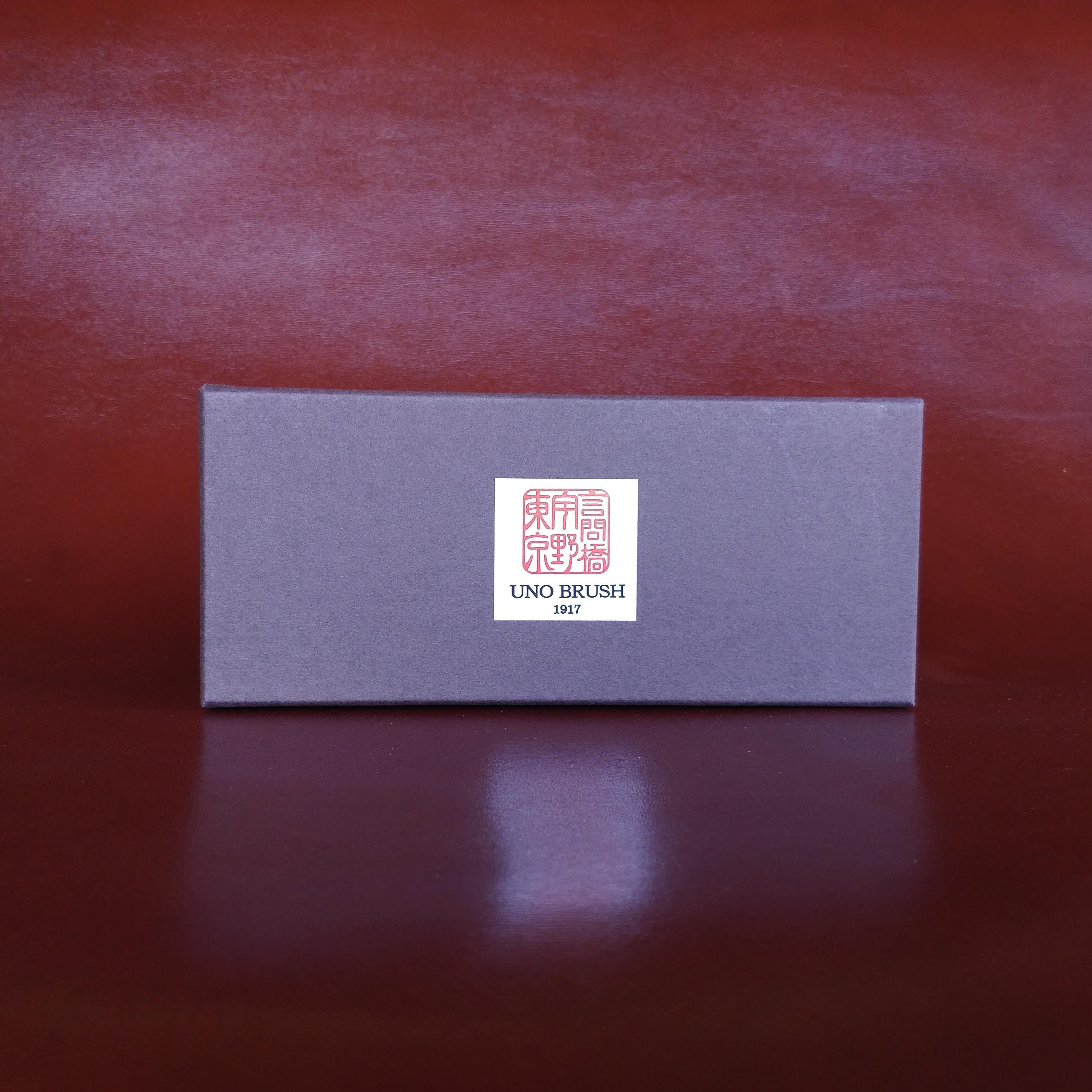 Unobrush shoe shine brush box