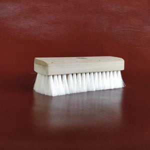 Unobrush Goat Hair Shoe Shine Brush by Fumu SideAngle