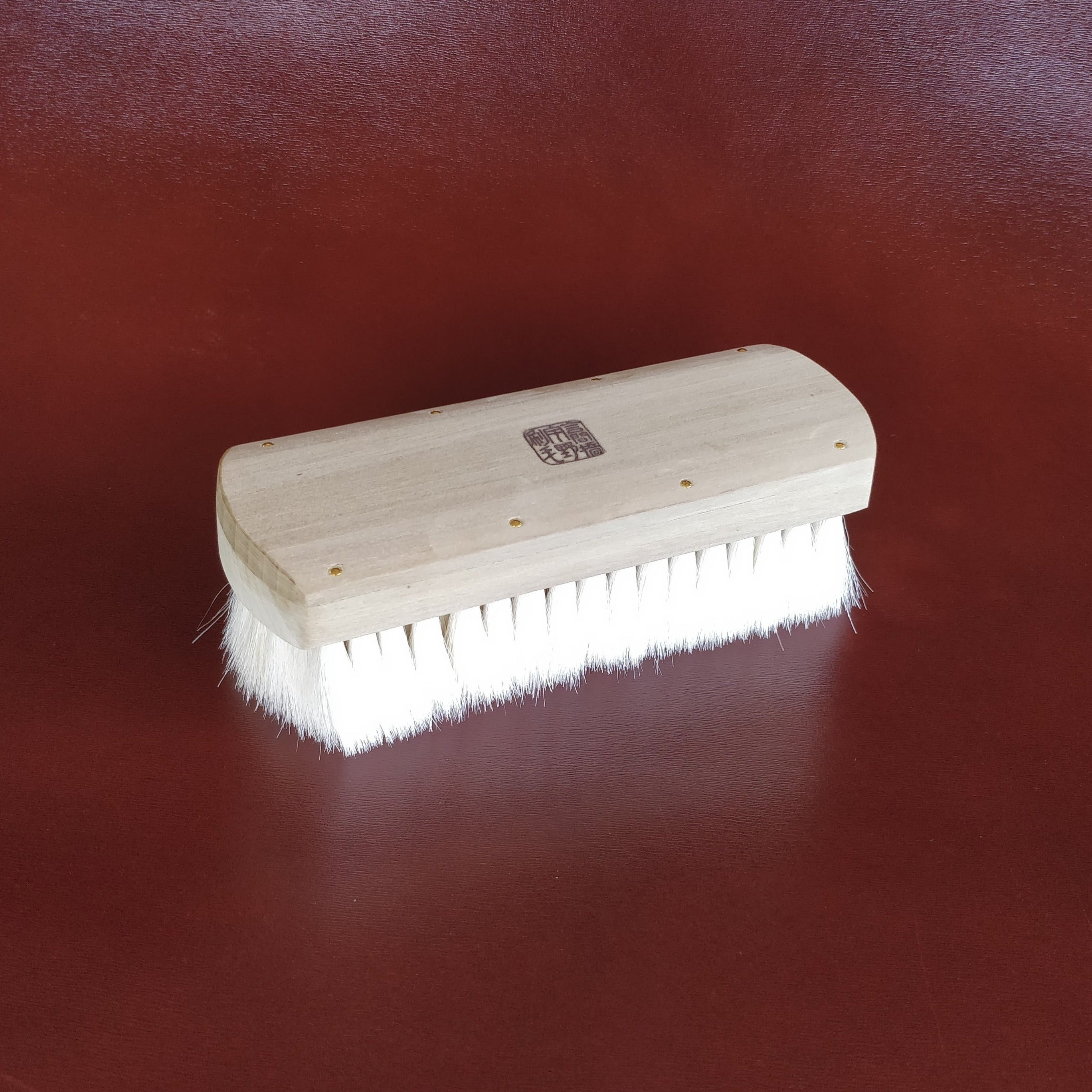 Unobrush Goat Hair Shoe Shine Brush by Fumu TopAngle
