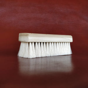 Unobrush Horse Hair Shoe Shine Brush by Fumu SideAngle