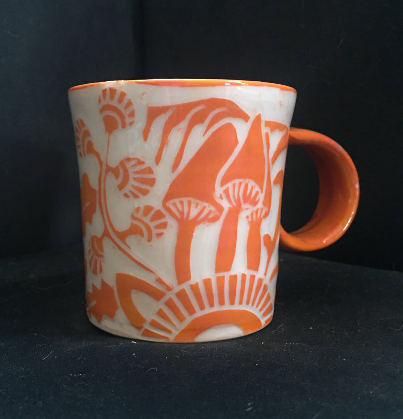 small porcelain mug
