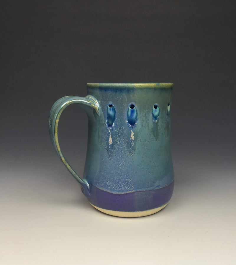 Periwinkle and Purple Mug