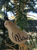 Quail Christmas Ornament