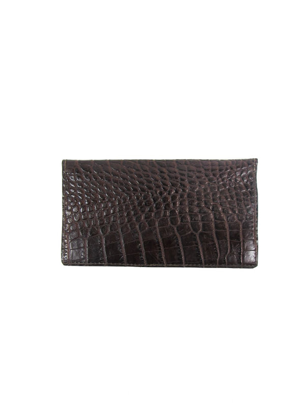 SAFIA phone wallet - croco brown