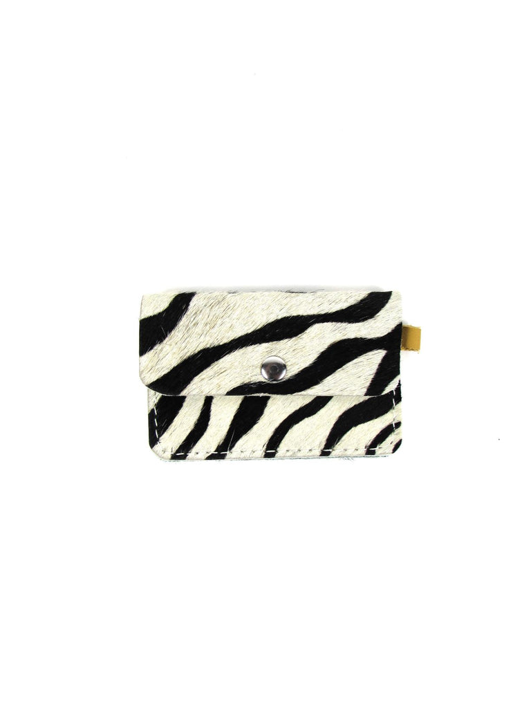 MINI wallet zebra