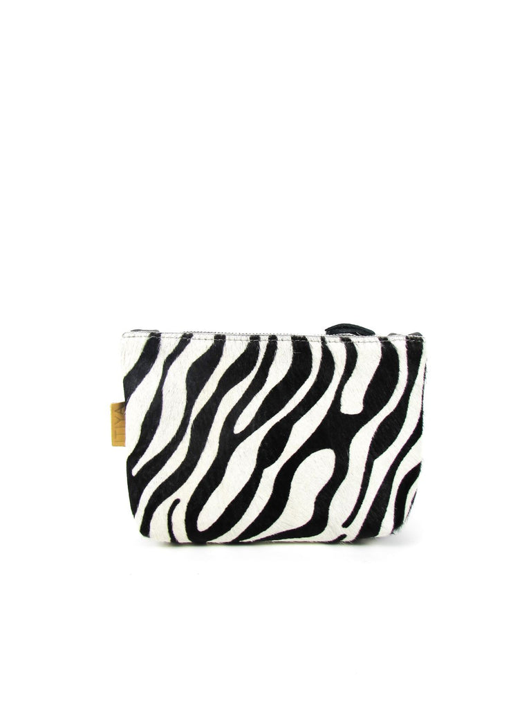 LOA clutch 10 zebra - grey