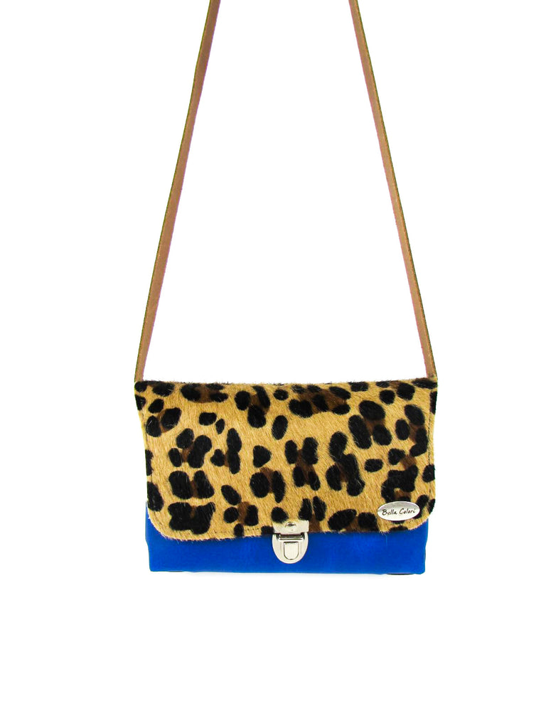 BELLA COLORI small bag panther - blue