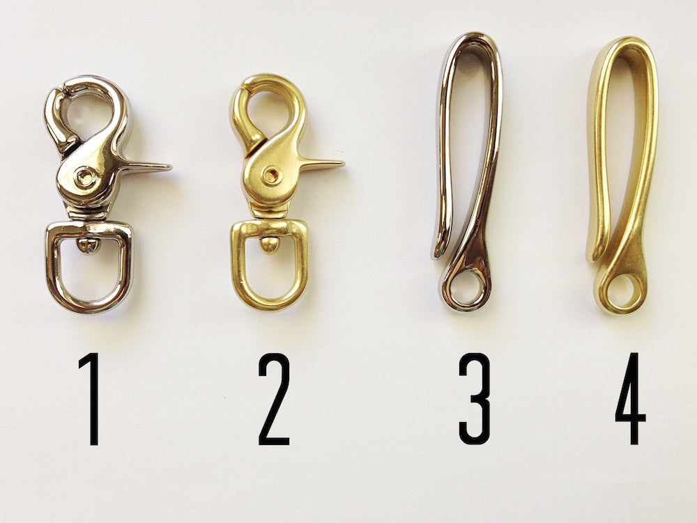 Braided Leather Key Chain