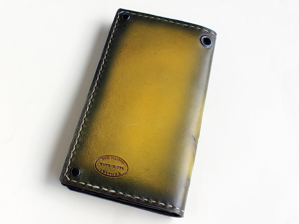 Gold Clipper Ship Wallet