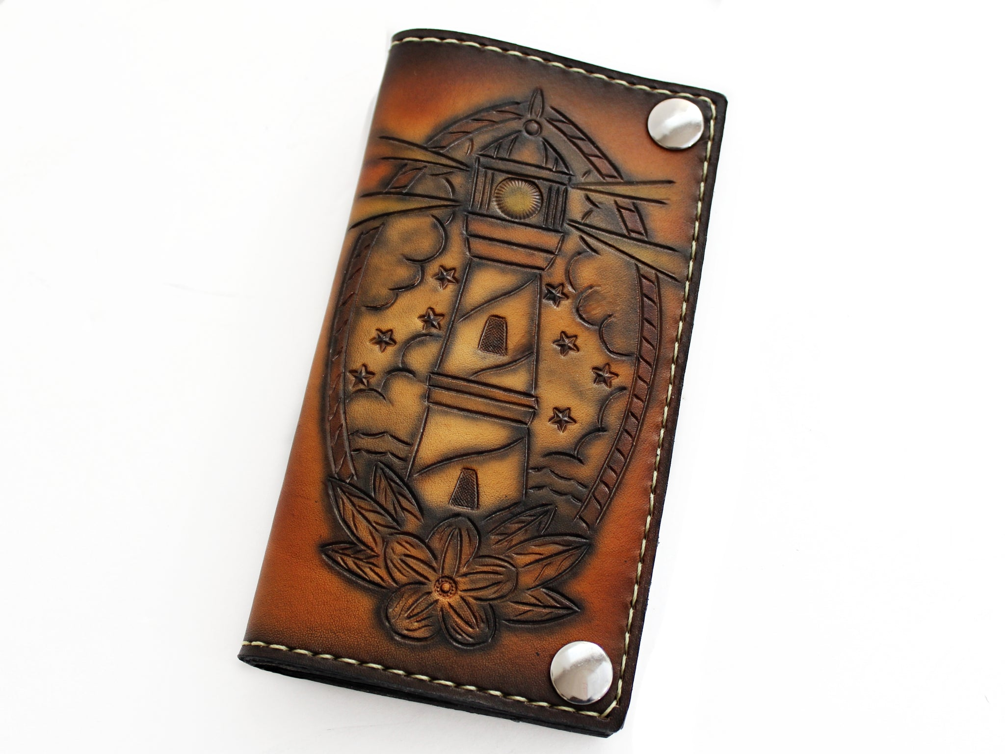 Lighthouse Biker Wallet