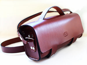 Mens Leather Shoulder Bag by San Filippo Leather