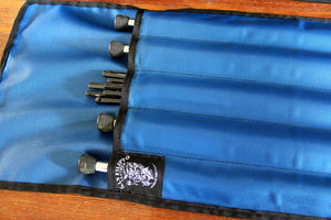 nylon pedal steel guitar leg bags, pedal bags by san filippo leather
