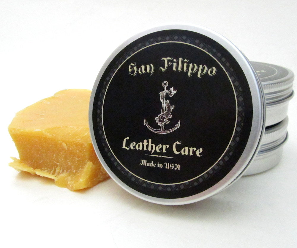 leather care conditioner by san filippo leather