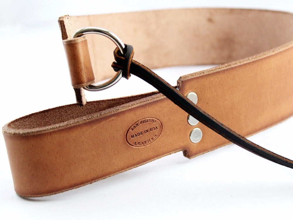 Leather Strop for Razors by San Filippo Leather