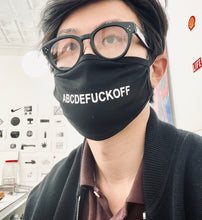 "Load image into Gallery viewer, ""Abcdefuckoff"" Mask"