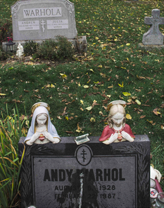 """Peeing on Warhol's Grave"""