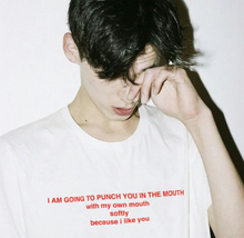 "Load image into Gallery viewer, ""I Like You"" Tee"