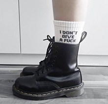 "Load image into Gallery viewer, ""IDGAF"" Socks"