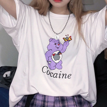 "Load image into Gallery viewer, ""Cocaine"" Care Bear Tee"