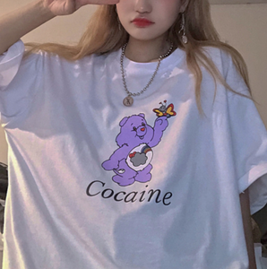 """Cocaine"" Care Bear Tee"