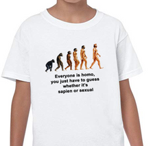 "Load image into Gallery viewer, ""We Are All Homo"" Tee"