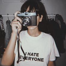 "Load image into Gallery viewer, ""I Hate Everyone"" Tee"