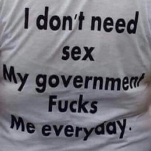 "Load image into Gallery viewer, ""I Don't Need Sex"" Tee"