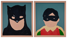 "Load image into Gallery viewer, ""Chinese Batman And Robin"""