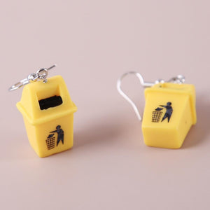 """Trash"" Earrings"