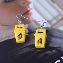 "Load image into Gallery viewer, ""Trash"" Earrings"