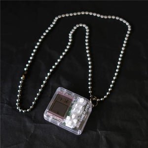 Tetris Game Necklace