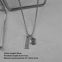 Load image into Gallery viewer, Silver Smiley Necklace