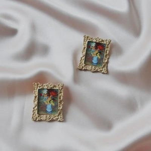 Classical Art Earrings